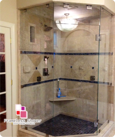 Frameless Shower Door Install Phoenix Enclosures Scottsdale Services
