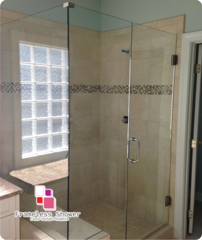 Frameless Glass Shower Doors Installation Phoenix Custom Enclosures Az