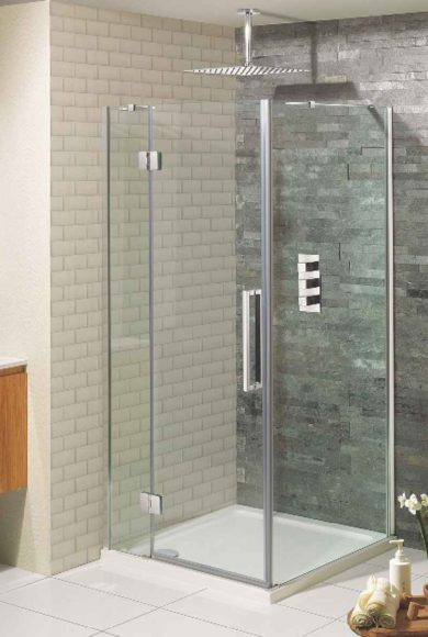 Frameless Shower door p