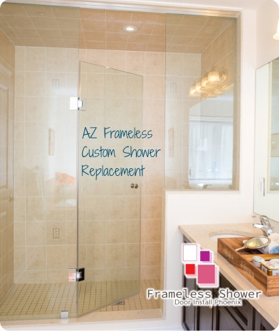 AZ Frameless Custom Shower Replacement