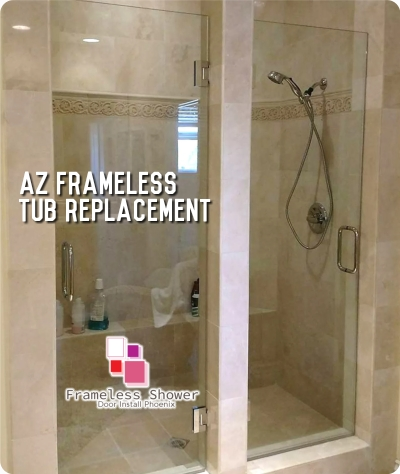 AZ Frameless Tub Replacement